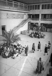 Одесса – южные ворота страны. Новый одесский аэропорт. г. Одесса, апрель 1962 г. (5350)