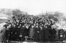 Потемкинская лестница. Одесса. 1958 г.