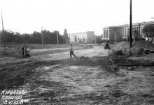 Курортная площадь. Фото А. Корченова. 19 октября 1965 г.