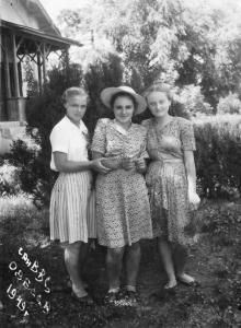 Санаторий ВВС, Одесса, 1949 г.
