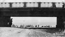 Одесса. Аркадия. Вход на пляж. 1930-е годы