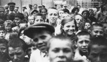 Одесские дети. Конец 1920-х гг.