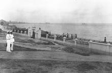 Одесса, Ланжерон, купальня ОСВОД. 1930-е гг.