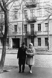 Одесса. Дом № 11 по ул. Осипова. Конец 1960-х гг.
