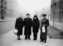 Одесса. На ул. Горького, слева дом № 24. 1962 г.