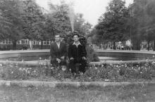 Одесса. Фонтан на площади Советской Армии. 1950-е гг.
