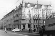 Одесса. Дом № 17 по ул Ленина, угол ул. Жуковского.1970-е гг.