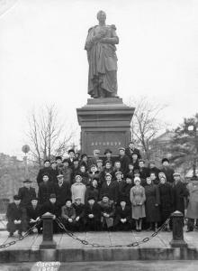Одесса. Памятник Воронцову. 1962 г.