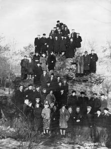 Одесса. Экскурсия на гроте. 1962 г.