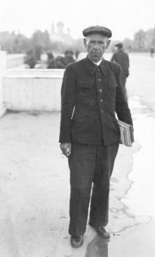 Одесса. На площади им. Октябрьской революции. 1947 г.