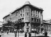 Одесса. «Палац праці» на ул. Лассаля, № 12 (угол ул. Ленина). 1930-е гг.