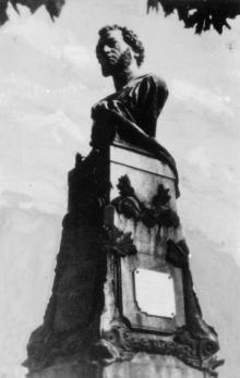 Памятник Пушкину. Фотография из набора «Одесса» издания «Коопфото»
