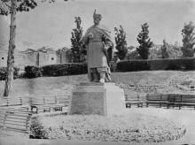 Памятник Богдану Хмельницкому в парке им. Т.Г. Шевченко
