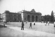 Одесса, здание вокзала