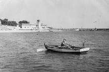 Одесса. Пляж «Ланжерон». 1970-е гг.