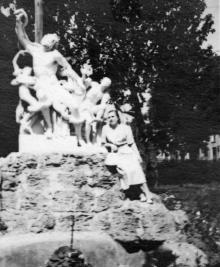 Одесса. Скульптура «Лаокоон». 1951 г.