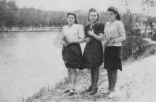 В парке «Победа». 1948 г.