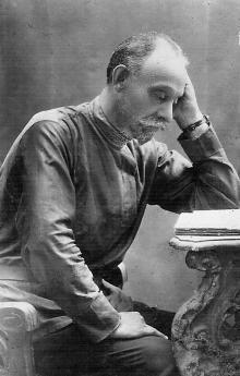 И.Б. Галюзман. Одесса. 1920 г.