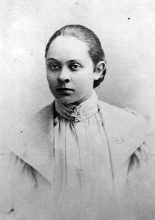 Доротея Арнольдовна Галюзман, мать К.Б. Корченова. Одесса, 1898 г.