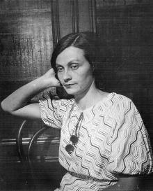 Н.И. Корченова. Одесса, 1937 г.