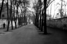 Одесса. Проезд к даче Ждановой. Фотограф Василий Фертюк. Конец 1960-х гг.