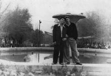 Одесса. Фонтан в сквере на площади Советской Армии. 1950-е гг.