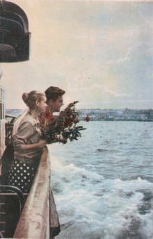Одесса. Лузановка. Фото из буклета «Одесса. Лузановка». 1963 г.