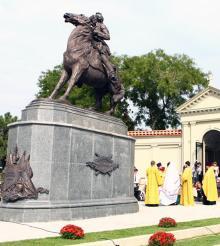 Памятник А.В. Суворову в Одессе. Воссоздан в 2012 г.