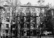 Одесса. Здание Холодильного института на ул. Петра Великого, 1. Конец 1980-х гг.