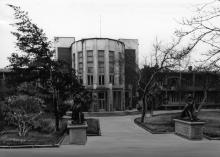 Одесса. Санаторий им. Ф.Э. Дзержинского. Пролетарский бульвар, 52. Конец 1980-х гг.