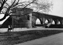Башня и аркадная стена одесского карантина. 1980-е гг.