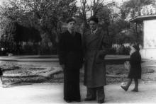 Одесса. В городском саду. 1950-е гг.