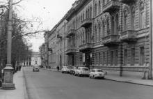 Приморский бульвар. Справа гостиница «Одесса». 1970-е гг.