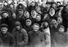 Одесситы. Фото Хорста Коха. 1956 г.