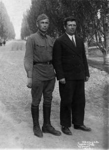 Одесса. Лермонтов. курорт. Штамп «Артіль Кооп-Фото. Халтурина, 9». 1930 г.