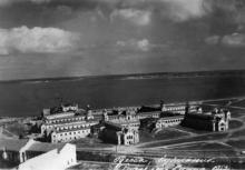 Одесса. Куяльник. Грязелечебница. 1953 г.