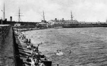 Одесский порт. Карантинный мол. 1910-е гг.