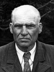 В архиве г. Курган нашлась единственная фотография: Я.Я. Пуриц, 1918 г.