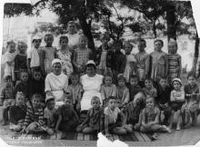 Мало-Долинский детский санаторий. 1964 г.