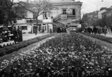 Одесса. Кинотеатр им. Маяковского на Дерибасовской улице. 1966 г.