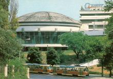 Одесса. Туркомплекс «Одесса». Фото П. Шраго. Комплект открыток «Одесса». 1990 г.