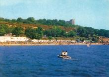 Одесса. Вид с моря. Фото П. Шраго. Комплект открыток «Одесса». 1990 г.