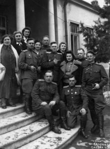 Санаторий Красной Армии. Одесса. 1947 г.