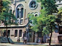 Одесса, ул. Пастера, 62. Театр кукол. Фото А.А. Подберезского в буклете «Театры Одессы». 1976 г.
