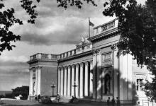 Одеса. На Приморському бульварі. Фото з набору фотографій «Одеса». Ф-ка масового фотодруку тресту «Укрфото». 1957 р.