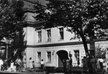 Одеса. Будинок, в якому жив О.С. Пушкін. Фото з набору фотографій «Одеса». Ф-ка масового фотодруку тресту «Укрфото». 1957 р.