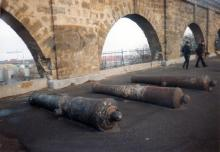 Одесса. Пушки у аркады. Фото Геннадия Калугина. 2006 г.