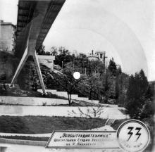 Тещин мост, фото на звуковом письме, 1980-е годы