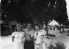 Одесса. Лузановка. В парке. 1949 г.