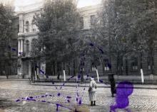 Одесский государственный педагогический институт. Конец 1930-х гг.